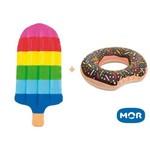 Kit Boia Picole e Donut Gigante Mor