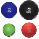 Kit Bolas de Peso 4 6 8 10kg Medicine Ball para Crossfit Liveup