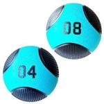 Kit Bolas de Peso Medicine Ball 4 Kg e 8 Kg Liveup Pro Lp8110