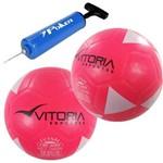 Kit 2 Bolas Futsal Feminina Fsf 200 Sub 13 Infantil + Bomba Ar