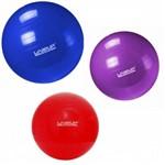 Kit 3 Bolas Suica 45cm + 55cm + 65cm C/ Bomba Pilates Yoga Academia - Liveup