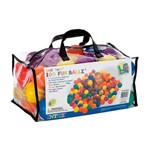 Kit Bolinhas Multicoloridas de 6,5cm 100 Unidades 49602 Colorido Intex
