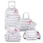 Kit Bolsa Maternidade Candy Colors Rosa - Masterbag Baby