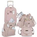Kit Bolsa Maternidade Rose Gold Rosa - Masterbag Baby