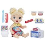 Kit Boneca Baby Alive e Acessórios - Meu Forninho e Comidinhas - Loira - E1947 - Hasbro