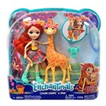 Kit Boneca Enchantimals - Girafa Gillian e Pawl