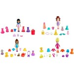 Kit Boneca Polly Amigas Super Fashion - Mattel
