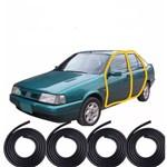 Kit Borracha de Vedação das 4 Portas Fiat Tempra