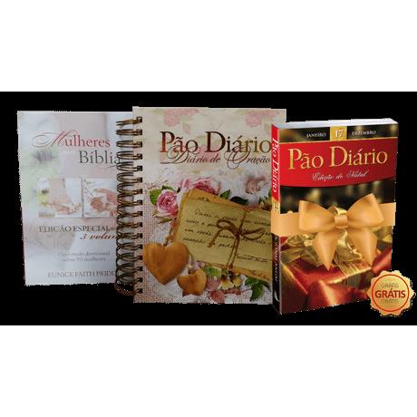Kit Box Mulheres na Bíblia + Diário de Oração