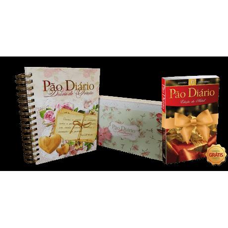 Kit Box Pão Diário Mulheres + Diário de Oração