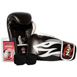 Kit Boxe Extreme Luva+Band+Bucal - Naja