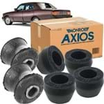 Kit Buchas Traseiras Barra Estabilizadora e Amortecedor Kit1048 Opala /chevette /car