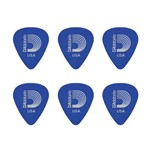 KIT C/ 6 Palhetas D'Addario Duralin Medium Heavy 1,0 Mm 1DBU5 - PL0078