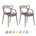 Kit 2 Cadeiras Allegra Cozinha Inmetro - (fendi)