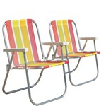 Kit 2 Cadeiras Varanda Alta