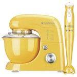 Kit Cadence Colors Amarelo - Batedeira e Mixer
