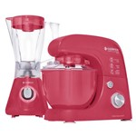 Kit Cadence Colors Rosa Doce - Batedeira e Liquidificador