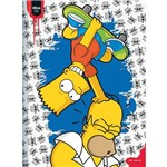 Kit Caderno (capa Dura) The Simpsons 96 Folhas Tilibra