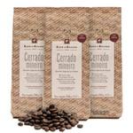 Kit Café do Centro Gourmet Especial de Origem Cerrado 250g - 3 Pacotes