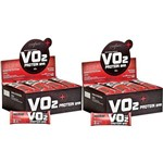 Kit 2 Caixa Whey Bar Vo2 (24 Un) Cd Integralmedica