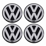 - Kit Calota Miolo de Roda Tsw 60mm Logo Vw Golf Europeu