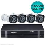 Kit Câmeras de Segurança Intelbras Multihd Dvr 4ch + 4 Câmeras 1010b
