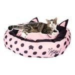 Kit Caminha Pet para Gatos com Almofada Rosa e Preto Casinha de Gato Presentes Criativos Uatt