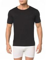 Kit 2 Camisetas Gola Careca Pima - M