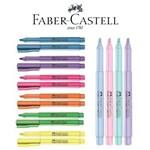 Kit Caneta Marca Texto Grifpen Faber Castell - 6 Neon + 4 Pastel