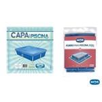 Kit Capa e Forro para Piscina 2000l Mor
