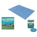 Kit Capa e Forro para Piscina 5000l Premium Mor