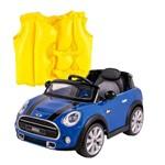 Kit Carro Conversivel Eletrico 6v Belfix + Colete Boia Inflável Infantil- Mor