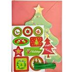 Kit Cartão Arvore de Natal KC102 - Toke e Crie