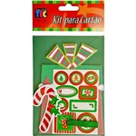 Kit Cartão Presentes de Natal Kc101 - Toke e Crie