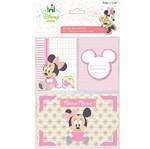 Kit Cartões para Scrap Momentos Disney Baby Minnie Kcsmd03 - Toke e Crie
