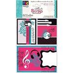 Kit Cartões para Scrap Momentos Teen Kcsm010 - Toke e Crie By Ivana Madi