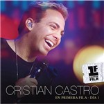 Kit CD + DVD Cristian Castro En Primera Fila - Día 1