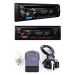 Kit Cd Player Pioneer Deh-s1080ub Mixtrax USB + Adaptador Veicular Bluetooth