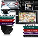 Kit Central Multimídia Evolve Gps Tv + Câmera de Ré
