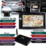 Kit Central Multimídia Evolve + Mirror Box e Câmera de Ré