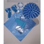Kit Cesta Azul Claro
