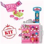 Kit Cesta Pic Nic 630 - Confeitaria Mágica 8047 - Magic Toys