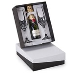 Kit Champagne Moët & Chandon 200ml + 2 Taças