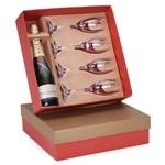 Kit Champagne Moet & Chandon Impérial Brut 750ml + 4 Taças