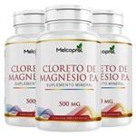 Kit 3 Cloreto de Magnésio P.a. 300 Cápsulas Melcoprol