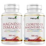 Kit Cloreto de Magnésio P.a + Magnésio Dimalato Melcoprol