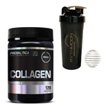 Kit COLLAGEN 120caps + Coqueteleira 600ml com Mola
