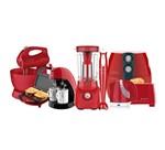 Kit Colors Vermelho Cozinha Completa Cadence - 127V