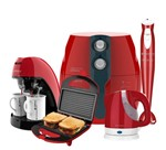 Kit Colors Vermelho Perfect Fryer Cadence - 127V
