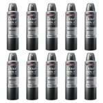 Kit com 10 Desodorantes Dove Men Antibacteriano Aerossol 150ml